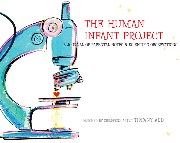 Baby keepsake book: The Human Infant Project