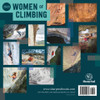 Women of Climbing Calendar 2020 back cover
