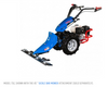 """Model 732 shown with the 45"""" Sickle Bar Mower Attachment, sold separately."""