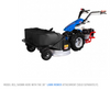 """Model 853 shown with 38"""" Lawn Mower Attachment, sold separately"""