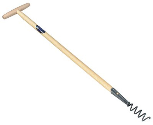 Long Handled Cork Screw Weeder
