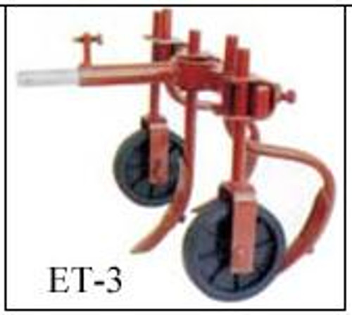 ET 3 tine cultivator with hitch
