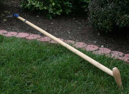 Long Handled P-Grip Diamond Hoe