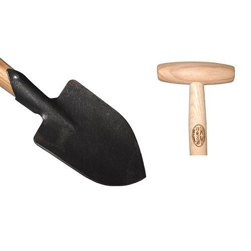DeWit Junior Pointed Spade w/ T-Handle