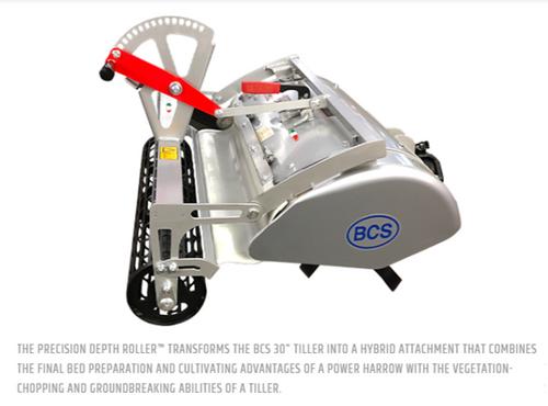 "BCS Precision Depth Roller 26""+ (size & feature options)"
