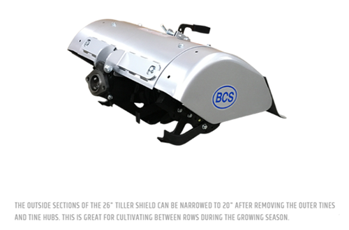 "BCS Rear-Tine Tiller 18"" (size options)"