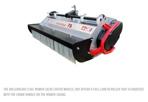 "BCS RollerBlade Flail Mower 30"""