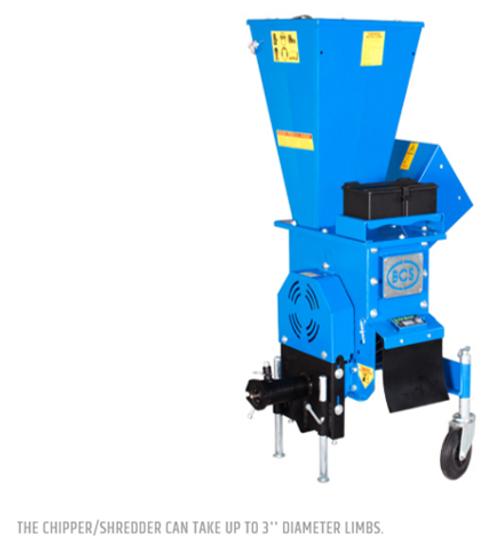 BCS Chipper/Shredder