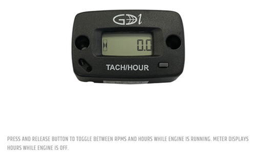 Tach/Hour Meter (options)