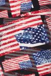 High Waisted 3D Hologram USA Flag Leggings