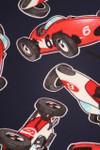 Brushed Retro Race Car Plus Size Leggings - 3X-5X