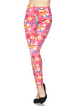 BrushedPink Christmas Plus Size Leggings
