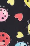 Brushed Ladybugs and Hearts Kids Leggings