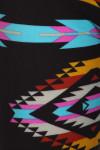 Close-up fabric image of Brushed Sacred Tribal Leggings