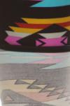 Close-up fabric image of Brushed Plus Size Sacred Tribal Leggings