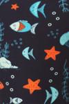 Brushed Oceans Alive Plus Size Leggings - 3X-5X