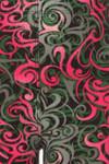 Soft Brushed Fuchsia Tangled Swirl Kids Leggings