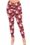 Soft Brushed Lovable Kitty Cats Plus Size Leggings