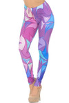 Soft Double Brushed Geometry in Motion Leggings