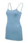 Adjustable Strap Cotton Camisole - 33 Inch