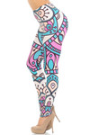Creamy Soft Cute Mandala Extra Small Leggings - USA Fashion™