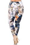 Creamy Soft Cat Collage Plus Size Leggings - USA Fashion™
