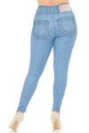 Creamy Soft Beautiful Blue Jean Plus Size Leggings - USA Fashion™