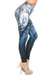 Creamy Soft Ombre Forest Leggings - USA Fashion™
