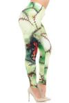 Creamy Soft Zombie Plus Size Leggings - USA Fashion™
