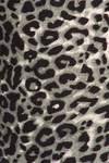 Brushed  Snow Leopard Plus Size Leggings