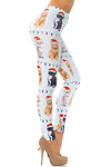 Kitty Cats in Hats Christmas Leggings