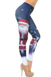 Jolly Santa Claus Leggings