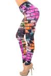 Creamy Soft Rainbow Brick Leggings - USA Fashion™