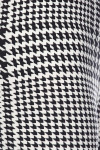 Buttery Soft Moving Houndstooth Plus Size Capris