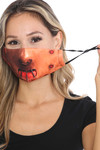 Hannibal Graphic Print Face Mask