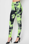 Tie Dye Scrunch Butt High Waisted Sport Leggings