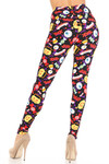 Buttery Soft Everything Trick or Treat Plus Size Leggings