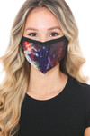 Odyssey Galaxy Graphic Print Face Mask
