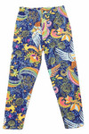 Buttery Soft Dazzling Rainbow Paisley Kids Leggings