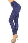 Creamy Soft Spiderwebs Halloween Leggings - By USA Fashion™