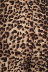 Close-up fabric image of Buttery Soft Feral Cheetah Plus Size High Waisted Leggings