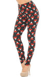 Buttery Soft Cappuccino Christmas Leggings