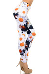 Right Side Image of Creamy Soft Daisy Plus Size Leggings - USA Fashion™