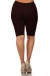 7 Inch One Size Nylon Thigh Shorts - Plus Size