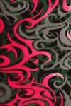 Fuchsia Twisted Swirl Plus Size Leggings