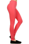 Zipper Back Fitness Leggings