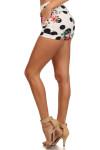 Floral Polka Dot Shorts