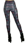 Space Invaders Leggings