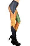 Definition Color Block Leggings - Plus Size