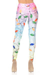 Ombre Holiday Lights Leggings